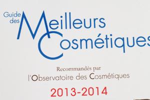 Guide des meilleurs cosmétiques 2013 – 2014