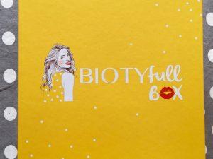 Biotyfull Box – Janvier 2016
