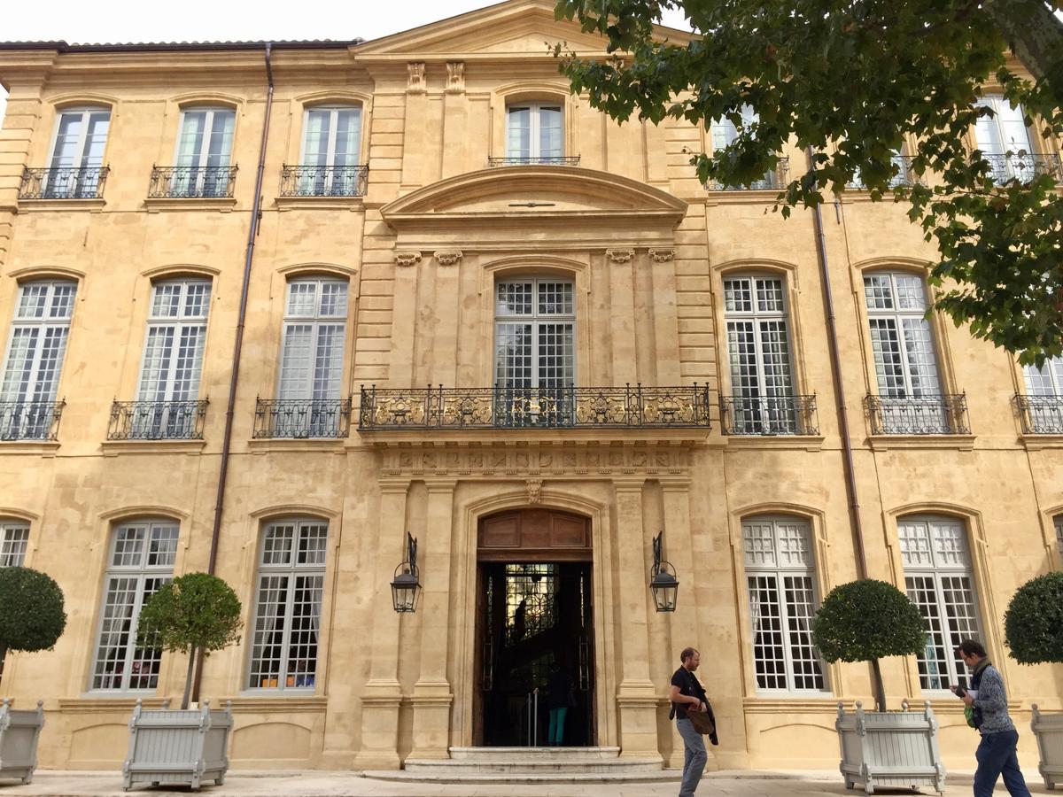 H tel de caumont centre d art aix en provence - Hotel de caumont aix en provence ...